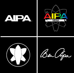 The Evolution of the Aipa Surf Logo